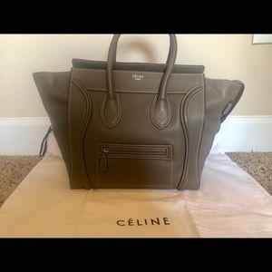 Authentic Celine Luggage Mini